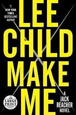 Jack Reacher: Make Me by Lee Child (2015, Paperback, Large Type)