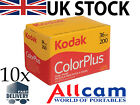 Kodak Colorplus 200 135/ 35mm Colour Film 36 exposure (10 packs)