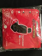 SNAP ON RACING  BLACK SEAT COVER NEW SAS TECHNOLOGY ORIGINAL
