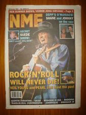 NME 1994 OCT 22 NEIL YOUNG PEARL JAM OASIS JOHNNY DEPP