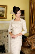 IRRESISTIBLE VEROMIA SUIT SIZE 10 MOTHER OF BRIDE BRAND NEW RRP £549 one only