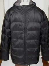CALVIN KLEIN PACKABLE DOWN QUILTED BLACK JACKET     Sz S