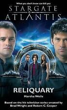 Stargate Atlantis: Reliquary, By Wells, Martha,in Used but Acceptable condition