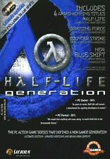 Half-Life Generations (Half Life,Droite Bleu,Opposing Force & Counterstrike)