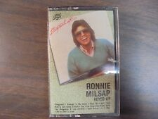 """NEW SEALED """"Ronnie Milsap"""" Keyed Up Cassette Tape   (G)"""