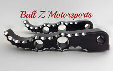 08-16-17 Hayabusa 06+ GSXR 600/750/1000 Hole Shot Black & Silver Rear Foot Pegs!