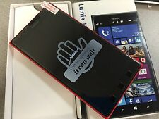 Nokia Lumia 1520 - 16GB - Red (Unlocked) AT&T Great Condition. Sunspots on LCD