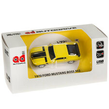 Ford Mustang Boss 302 Car USB Memory Stick Flash Pen Drive 8Gb - Yellow