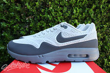 NIKE AIR MAX 1 ULTRA MOIRE SZ 11.5 NATURAL DARK GREY 705297 002