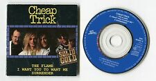 Cheap Trick  3-INCH cd-single  SOLID GOLD series © 1989 Epic 3-track # 654851 3