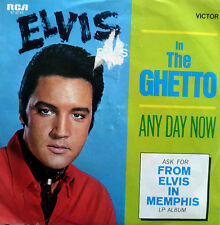 "7"" 1969 ! ELVIS PRESLEY : In The Ghetto // VG+ \"