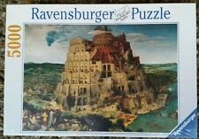 Ravensburger Puzzle 5000 Piece Tower Of Babel by Brueghel The Elder New Sealed