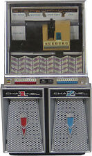 JUKEBOX SEEBURG 220 (1958) COLLECTIBLE MINIATURE LIGHTS & PLAYS FRED BUSCAGLIONE