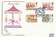 (95722) GB Cotswold FDC Britsih Fairs Turners Musical Merry-go-Round 5 Oct 1983