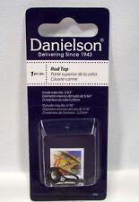 """Danielson Size 5 Fishing Rod Top 5/64"""" Inside Tube Diameter 5/16"""" Outside Ring"""