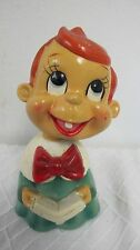 VINTAGE JAPAN CHRISTMAS CHOIR FIGURE BOBBLEHEAD  NODDER PAPER MACHE