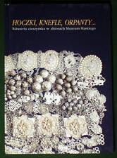 BOOK Polish Folk Jewelry Cieszyn silver hoczki Poland costume Czech ethnic kroj