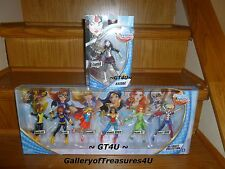 "DC Comics Super Hero Girls Ultimate Collection 6 Pack 6"" Dolls & New KATANA"