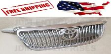 NEW TOYOTA COROLLA 2003-2008 ALTIS CHROME GRILL WITH TOYOTA EMBLEM 04 05 06 07