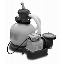 Intex Crystal Clear Sand Filter & Pump Combo, 1,600gph Pools up to 40,000 Litres