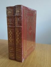 Faulkner Sound & Fury, Light In August Leahter-bound set from Easton Press NEW
