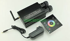 New RGBW fiber optic light engine dual output touchpad control led light source