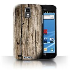 STUFF4 Case/Cover for Samsung Galaxy S2 Hercules/T989/Wood Grain Effect/Pattern