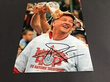 LOUIS VAN GAAL FC BAYERN In-Person signed Photo 20x27