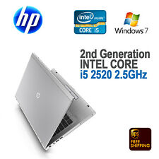 "HP EliteBook 8460p Notebook 14"" / i5-2520m 2.50 GHz / 4 GB / 250 GB / Windows 7"