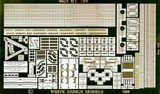 White Ensign Models 1/700 #PE7030 Imperial Russian Askold Cruiser Etching Parts