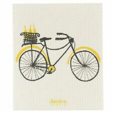 Danica Studio Swedish CLEANING CLOTH BICICLETTA Dishwasher Safe Biodegrabdeable