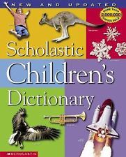 SCHOLASTIC CHILDRENS DICTIONARY Reference Book - FREE SHIPPING
