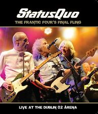 STATUS QUO - FRANTIC FOUR'S FINAL FLING-LIVE IN DUBLIN  BLU-RAY + CD NEU