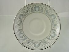 DOLPHINS - PLATINUM 1980 SAUCER BY WEDGWOOD ENGLAND