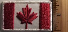 CANADIAN FLAG PATCH (MAPLE LEAF)