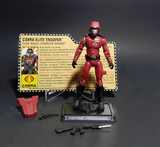 Hasbro GI Joe 25th CRIMSON GUARD Complete w/Filecard