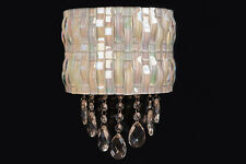 Contemporary Mosaic Wall Lamp with 2 Integrated white LED light, 3 W each