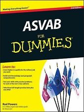 ASVAB for Dummies by Rod Powers (2010, Paperback)