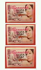 3 (Pack) BEAUCHE GLUTA SOAP SUPER WHITENING USA SELLER 90g