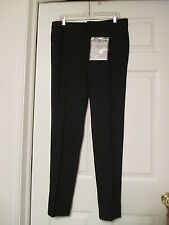 NWT BLK DNM NYC BLACK SKINNY TAILORED PANTS SIZE 42 / US 10 GREAT OFFER!
