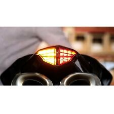 SMOKED Ducati 848 1098 1198 SEQUENTIAL Integrated LED Tail Light