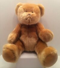 "steven smith stuffed teddy bear 13"" Tall 10"" Wide Tan EUC"