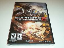 Supreme Commander 2   Pc   dvd-rom   NEW SEALED