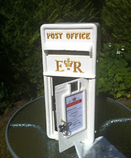 WHITE ROYAL MAIL POST BOX WEDDING HIRE BOURNEMOUTH - GIFT CARDS & PRESENTS SAFE