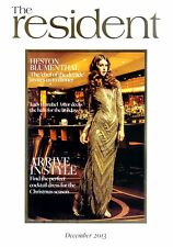 HESTON BLUMENTHAL LADY ANNABEL ASTOR  NATHAN OUTLAW OKA THE RESIDENT DEC 2013