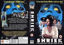 Shriek, Julie Benz Video Promo Sample Sleeve/Cover #14842