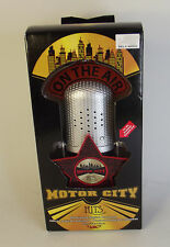Motor City Hits Christmas Ornament Plays Jackson 5 ABC Song Radio On The Air Mic
