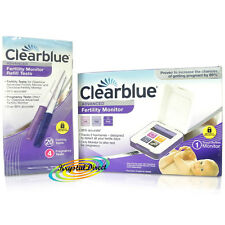 Clearblue Advanced Ovulation Fertility Monitor + 20 Sticks + 4 Pregnancy Tests