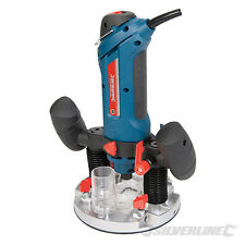"Silverline 270289 Silverstorm 600W 1/4"" Multipurpose Router cutter sander drill"