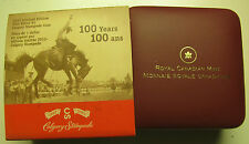 2012 Proof Ltd Ed $1 100th Anniversary Calgary Stampede .9999 Silver Dollar Cana